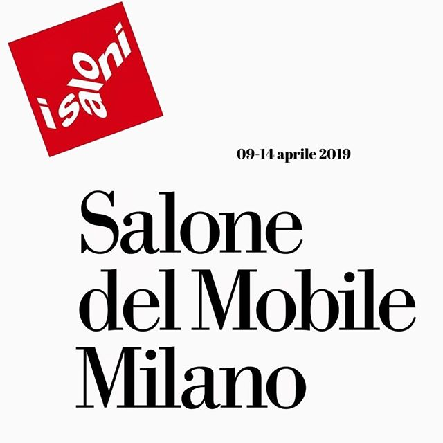 Salon international du meuble de Milan.