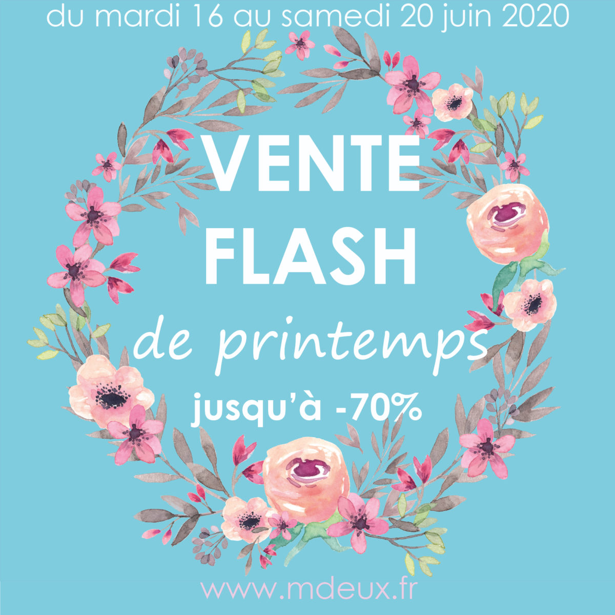 Vente flash de printemps
